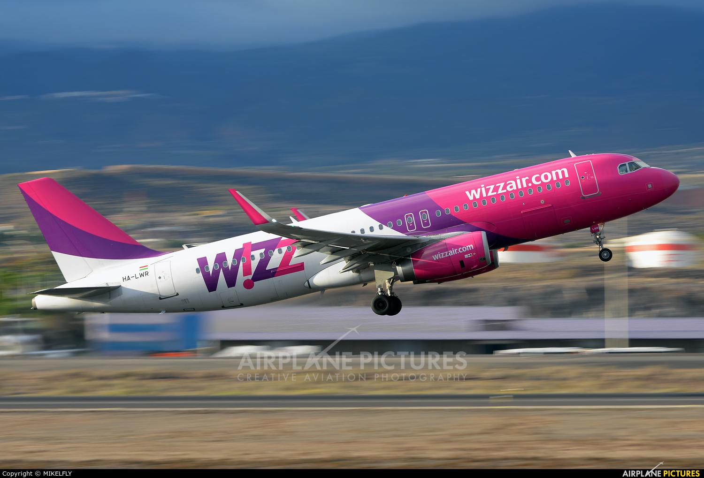 Wizz Air HA-LWR aircraft at Tenerife Sur - Reina Sofia
