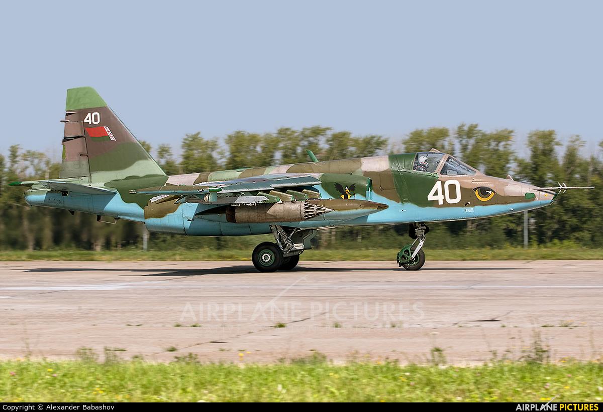 Belarus - Air Force 40 aircraft at Ryazan - Dyagilevo