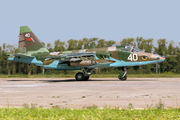 40 - Belarus - Air Force Sukhoi Su-25 aircraft