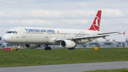 TC-JRT - Turkish Airlines Airbus A321