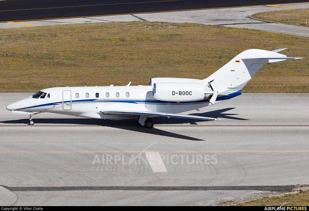 Air X D-BOOC aircraft at Lisbon