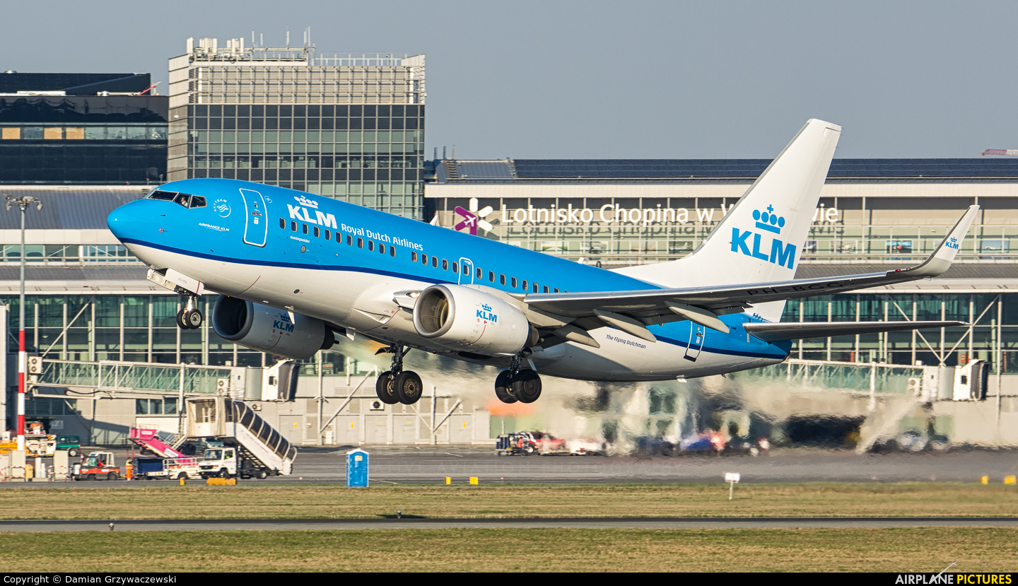 KLM PH-BGG aircraft at Warsaw - Frederic Chopin