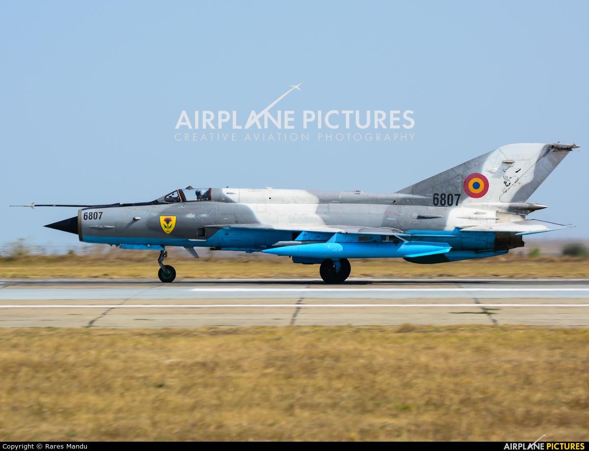 Romania - Air Force 6807 aircraft at Constanza - Mihail Kogălniceanu