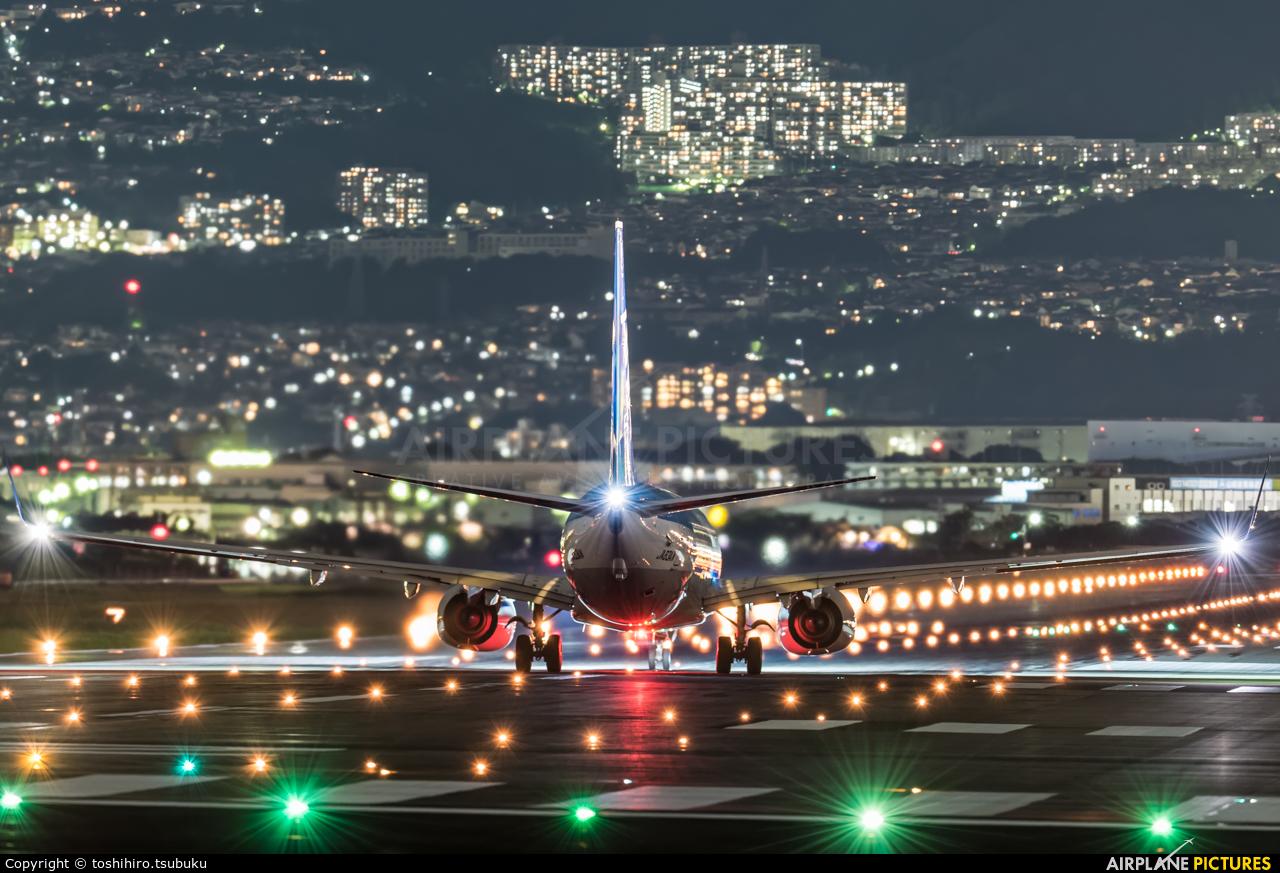 ANA - All Nippon Airways JA83AN aircraft at Osaka - Itami Intl