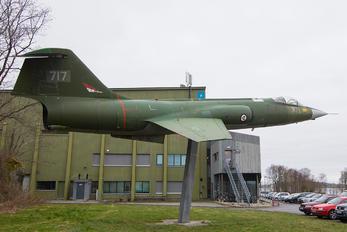 717 - Norway - Royal Norwegian Air Force Canadair CF-104 Starfighter