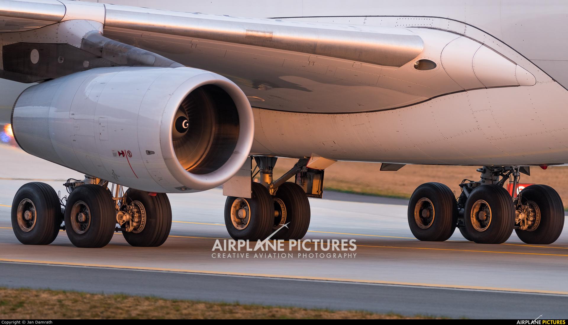 Lufthansa D-AIFA aircraft at Frankfurt
