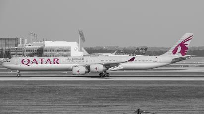 A7-AGA - Qatar Airways Airbus A340-600