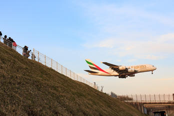 A6-EUJ - Emirates Airlines Airbus A380