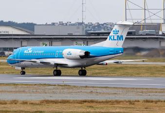 PH-KZB - KLM Cityhopper Fokker 70