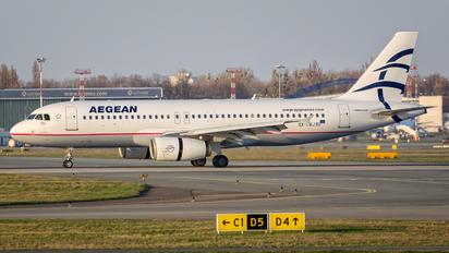 SX-DVJ - Aegean Airlines Airbus A320