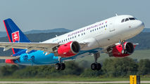 OM-BYA - Slovakia - Government Airbus A319 CJ aircraft
