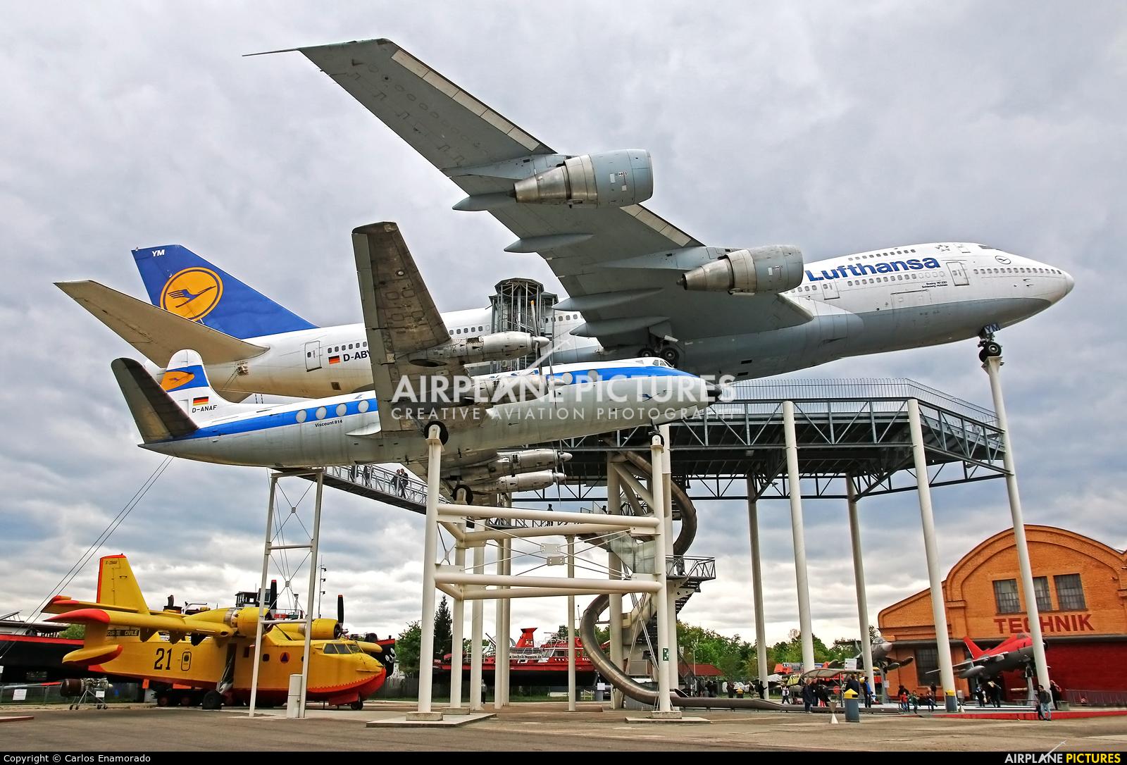 Lufthansa D-ANAF aircraft at Speyer Airport