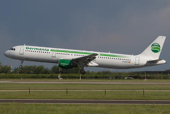D-ASTP - Germania Airbus A321