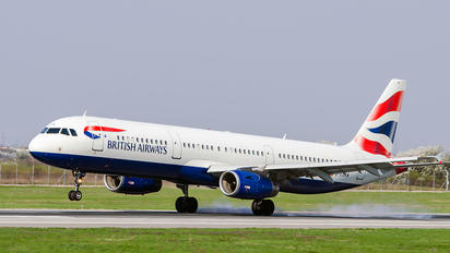 G-EUXM - British Airways Airbus A321