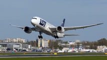 SP-LRC - LOT - Polish Airlines Boeing 787-8 Dreamliner aircraft