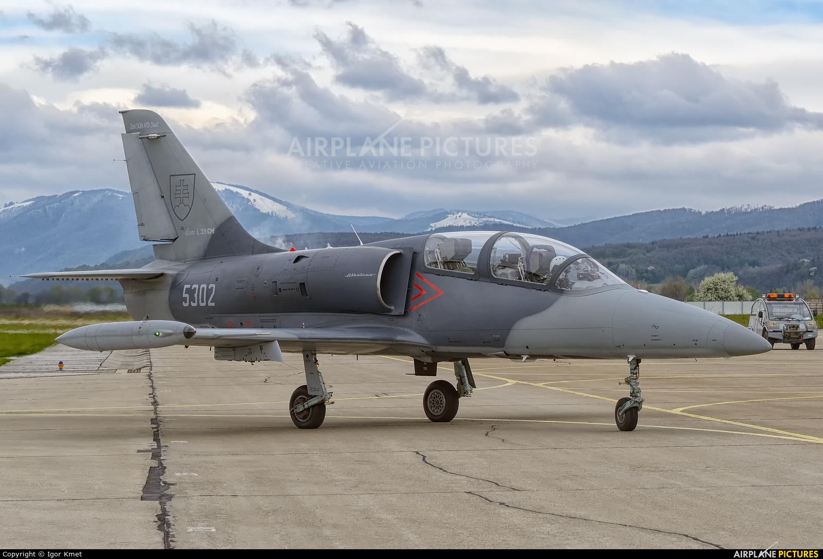 Slovakia -  Air Force 5302 aircraft at Sliač