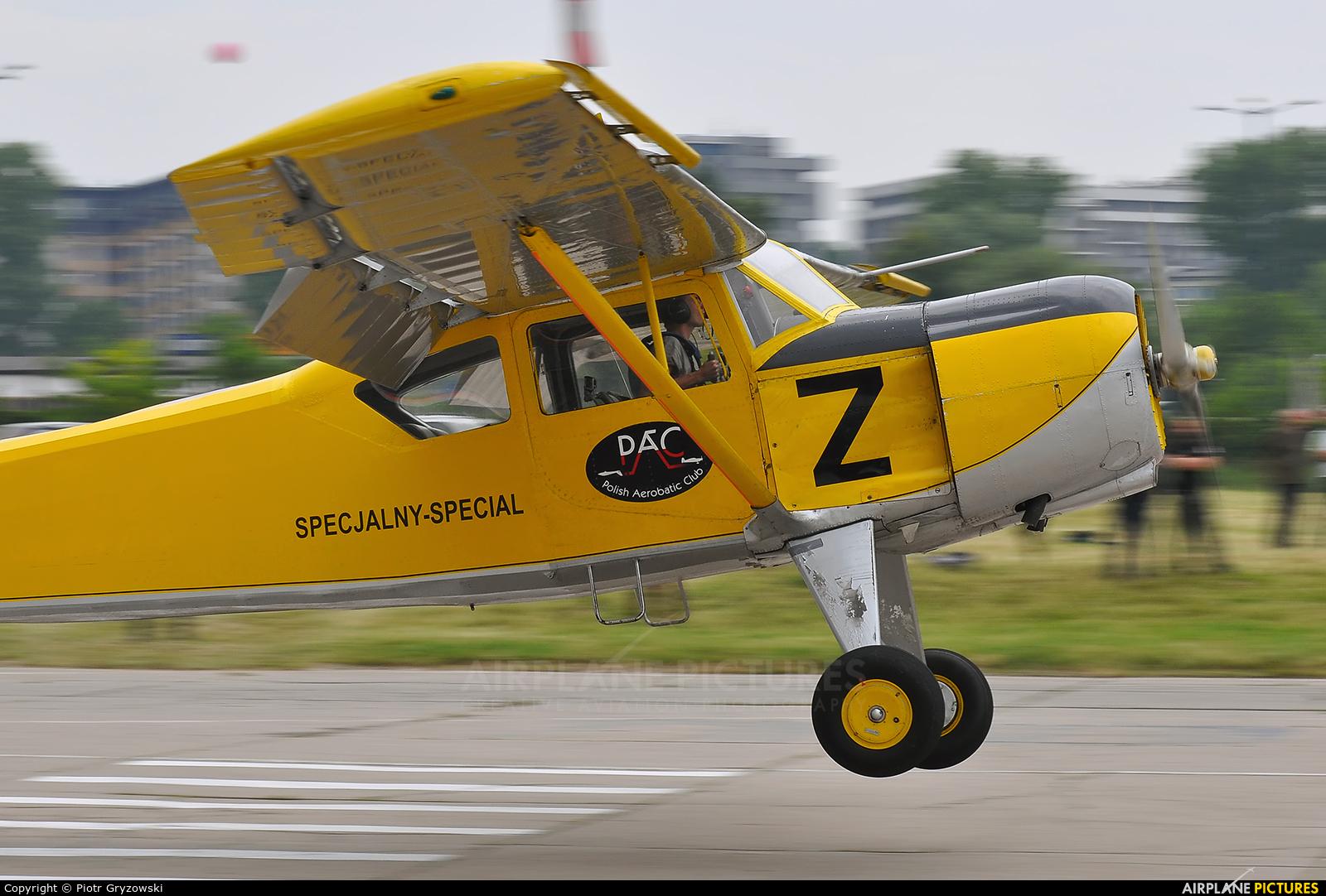 Private SP-YWZ aircraft at Kraków, Rakowice Czyżyny - Museum of Polish Aviation