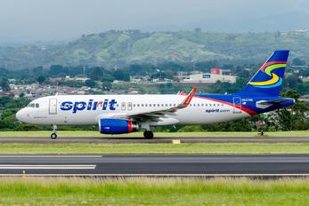 N637NK - Spirit Airlines Airbus A320