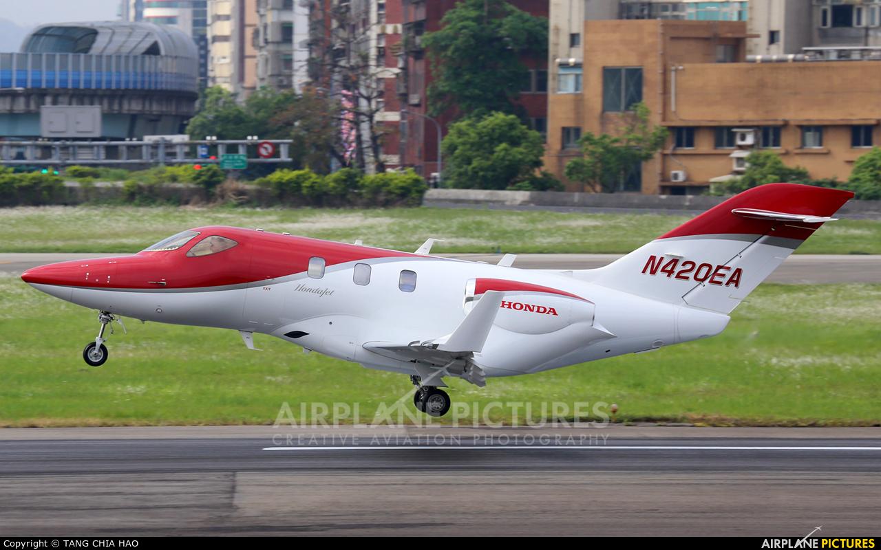 Honda Aerospace N420EA aircraft at Taipei - Sung Shan