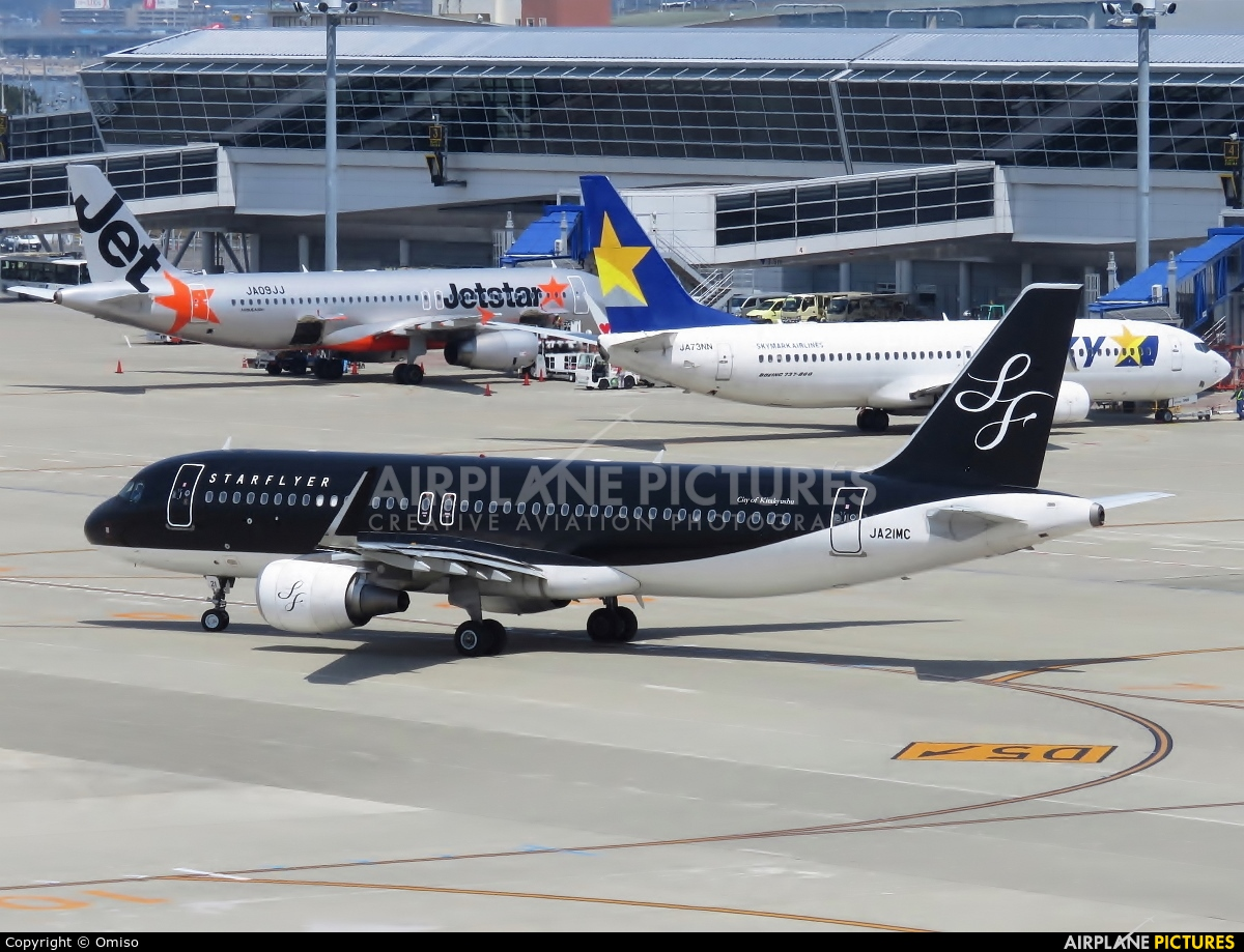 Starflyer JA21MC aircraft at Chubu Centrair Intl