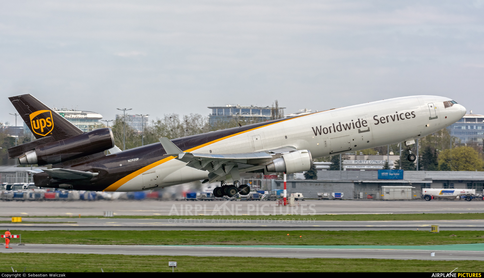 UPS - United Parcel Service N292UP aircraft at Warsaw - Frederic Chopin