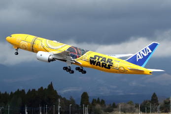 JA743A - ANA - All Nippon Airways Boeing 777-200ER