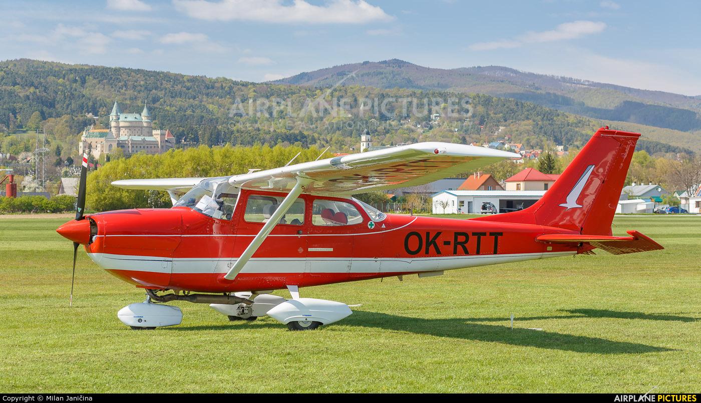Private OK-RTT aircraft at Prievidza