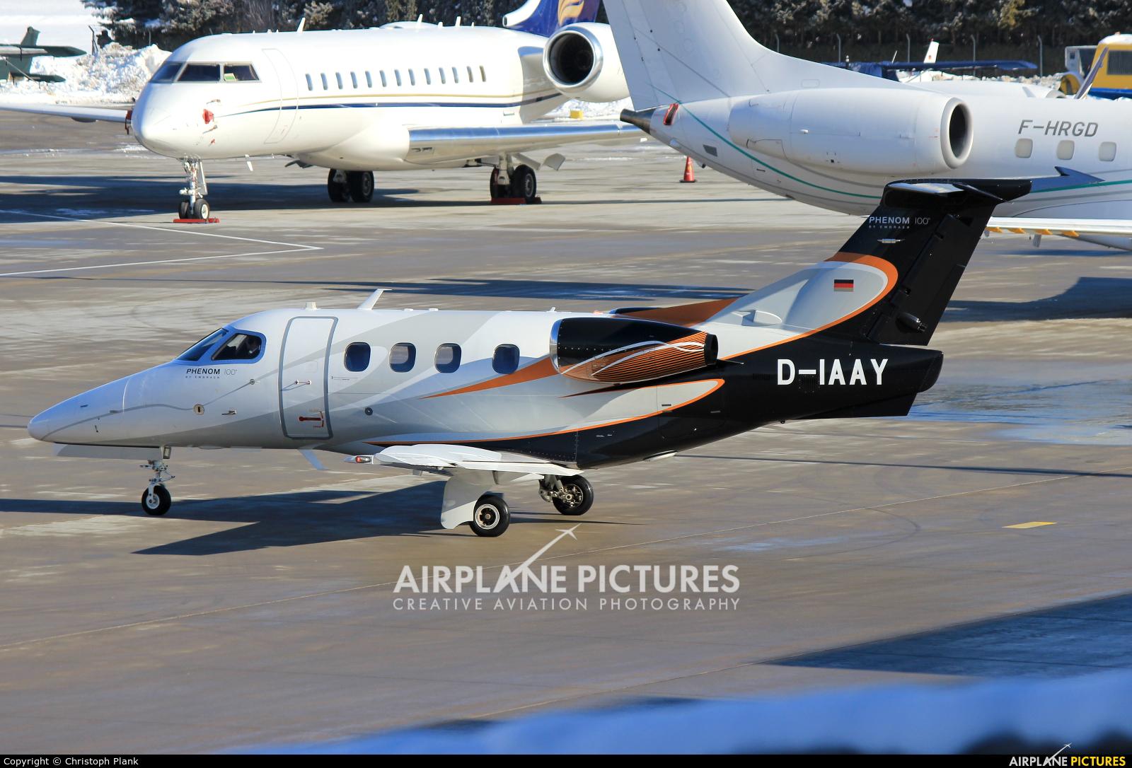 Arcus Air D-IAAY aircraft at Innsbruck