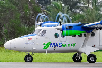 9M-SSC - MASWings de Havilland Canada DHC-6 Twin Otter