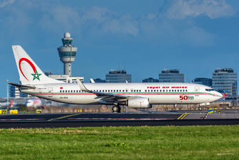 CN-RGN - Royal Air Maroc Boeing 737-800