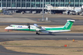 JA857A - ANA - All Nippon Airways de Havilland Canada DHC-8-400Q / Bombardier Q400