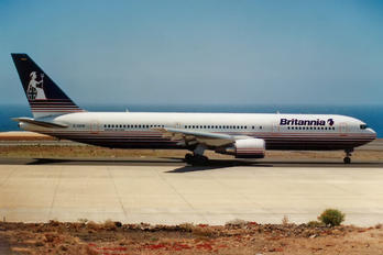G-OBYA - Britannia Airways Boeing 767-300ER