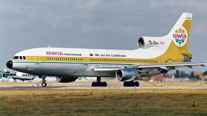 9Y-TGN - British West Indian Airlines Lockheed L-1011-500 TriStar