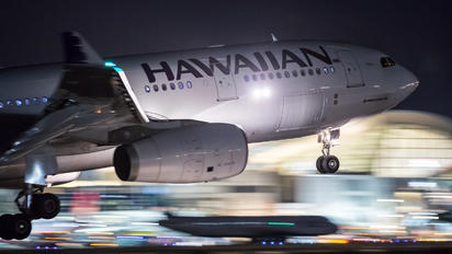 N375HA - Hawaiian Airlines Airbus A330-200
