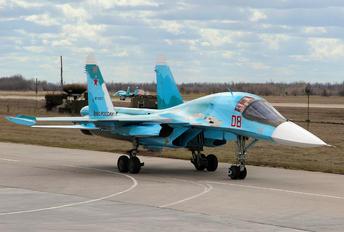RF-93833 - Russia - Air Force Sukhoi Su-34