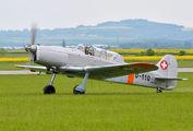 OK-PTW - Private Pilatus P-2 aircraft