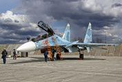 19 - Russia - Air Force Sukhoi Su-30SM aircraft