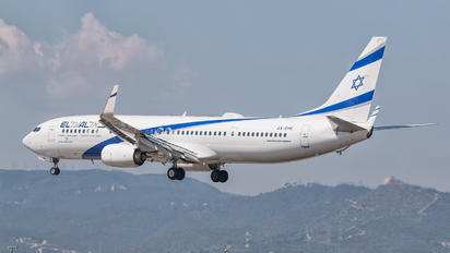 4X-EHE - El Al Israel Airlines Boeing 737-900ER