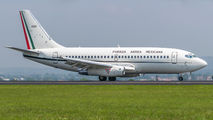 Mexican Air Force B737 visits San Jose title=