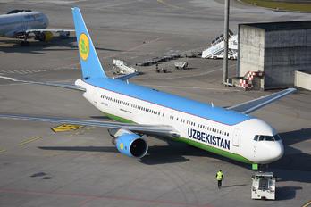 UK67006 - Uzbekistan Airways Boeing 767-300ER
