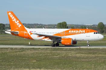 HB-JYN - easyJet Switzerland Airbus A319
