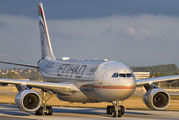 A6-EYR - Etihad Airways Airbus A330-200 aircraft