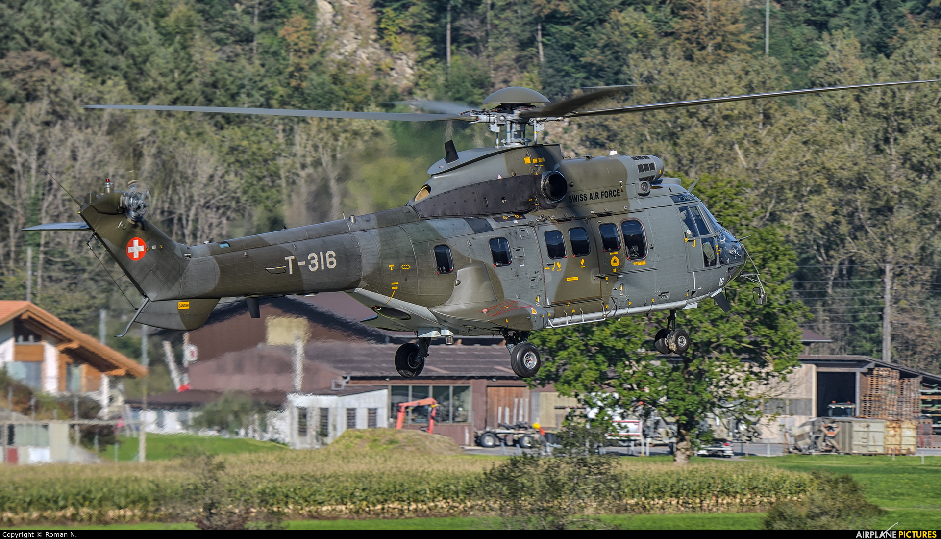 Switzerland - Air Force T-316 aircraft at Meiringen