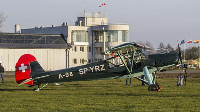 SP-YRZ - Private Fieseler Fi.156 Storch