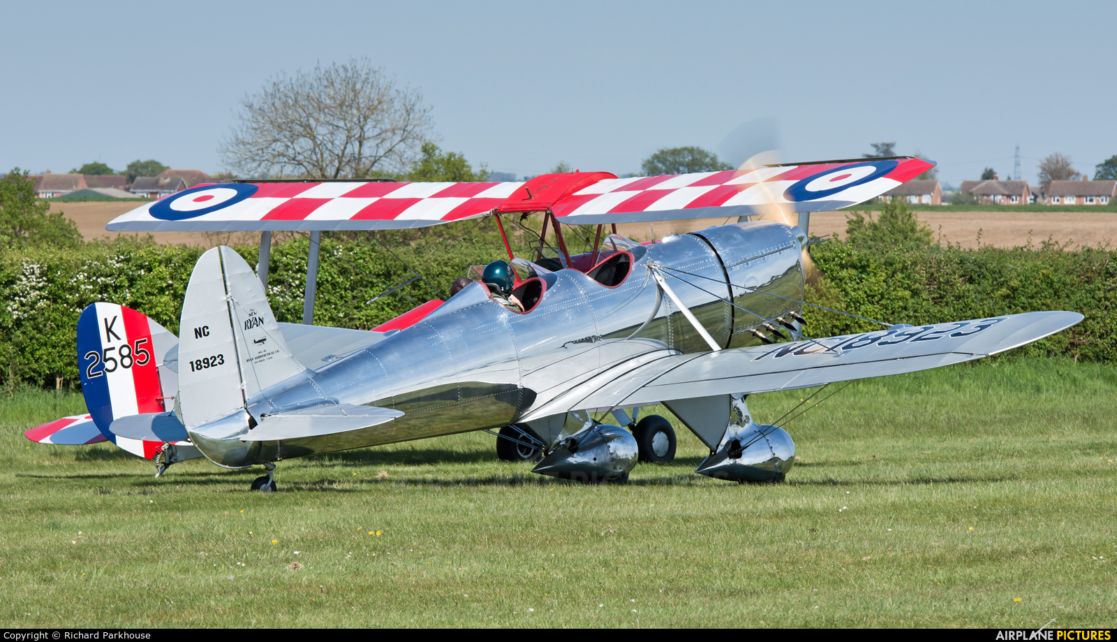 Private NC18923 aircraft at Old Warden