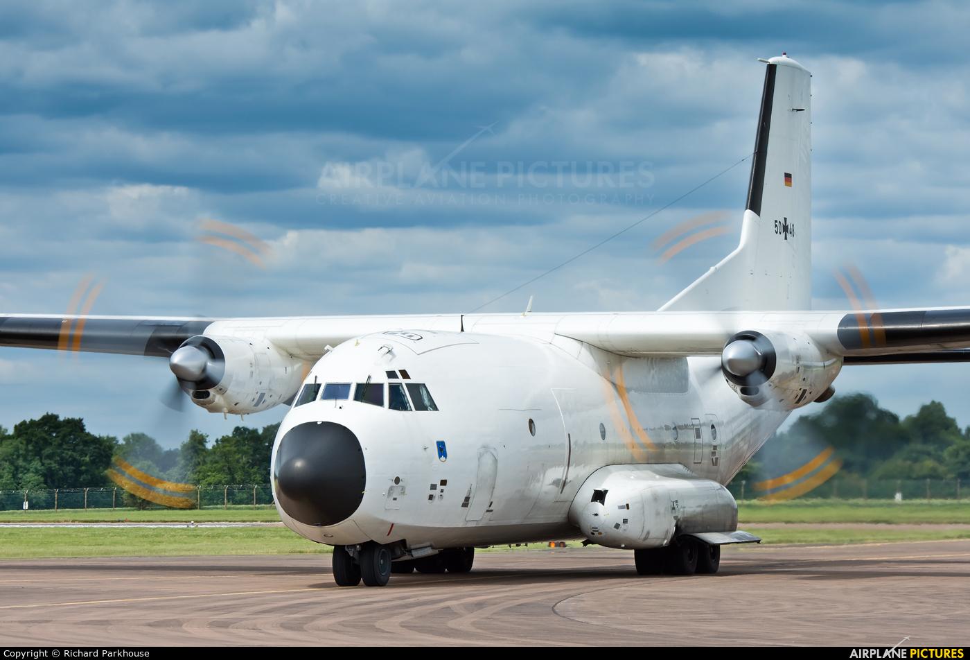 Germany - Air Force 50+48 aircraft at Fairford