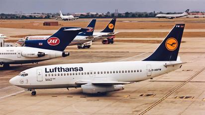 D-ABFW - Lufthansa Boeing 737-200