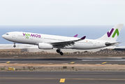Rare visit of Wamos A330 to Tenerife title=