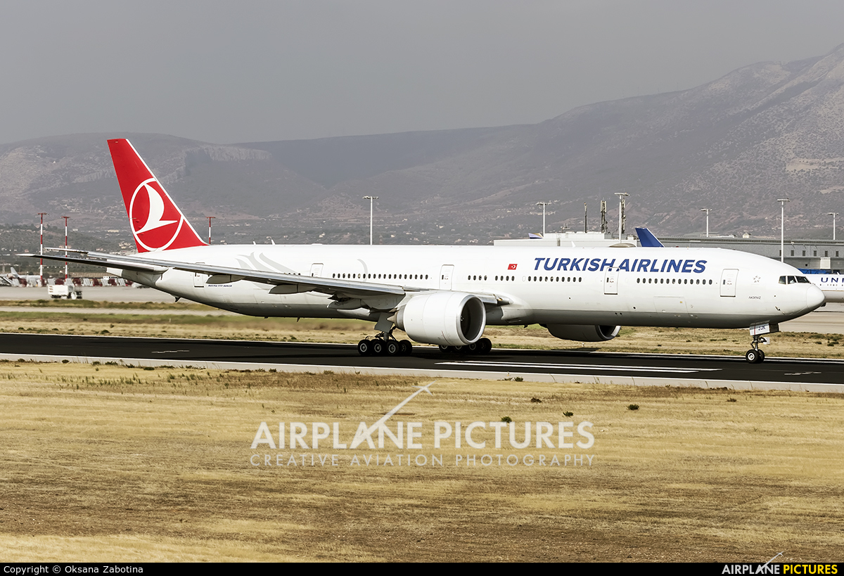 Turkish Airlines TC-JJK aircraft at Athens - Eleftherios Venizelos