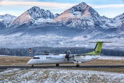 YL-BAX - Air Baltic de Havilland Canada DHC-8-400Q / Bombardier Q400 aircraft